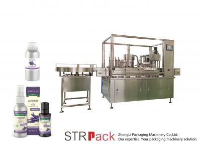 Oral Liquid Syrup Filling and Capping Machine